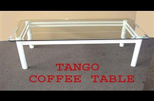 Tango Coffee Table with Glass Top