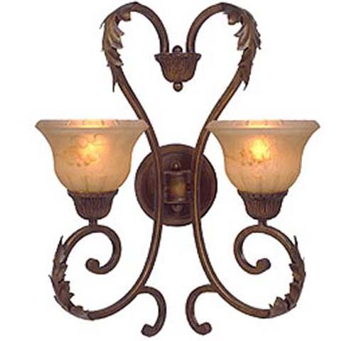 Florentine 2 light Wall Sconce