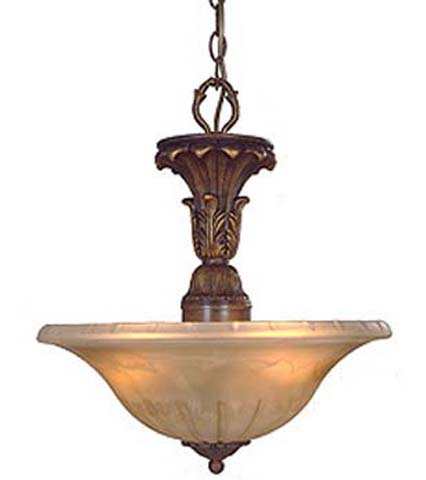Florentine 3 light Pendant