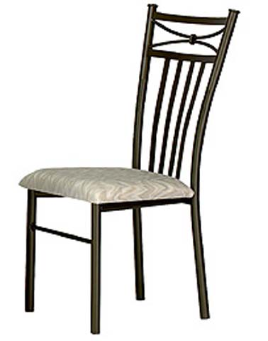 Cleopatra Dining Chair with Cushion Seat