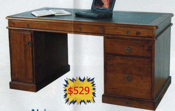 Alpine 1500 Executive Desk
