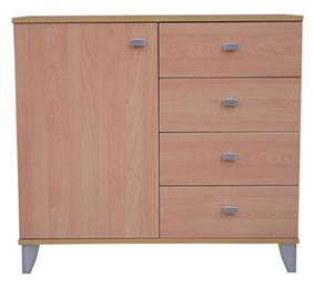 Tasman A--Cupboard with 4 Drawers