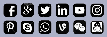 Social External Link Icons